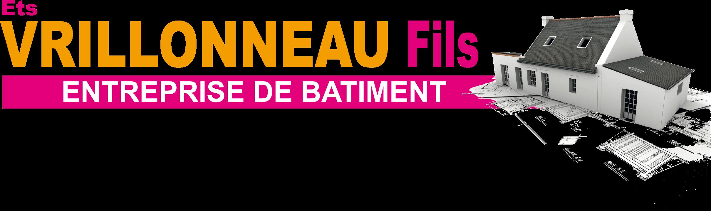 Logo de VRILLONEAU Fils, maçon à Grue en Vendée